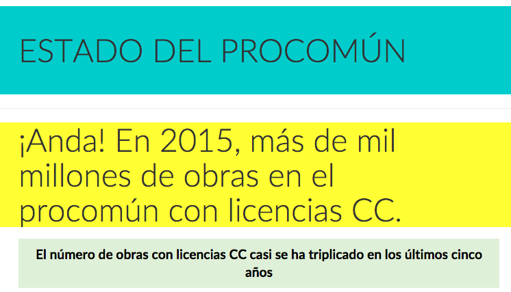 creative commons 2015